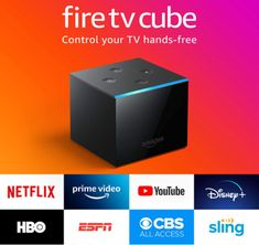 The fastest, most powerful Fire TV. From across the room, just ask Alexa to turn on the TV, dim the lights, and play your show. Control compatible soundbar and A/V receiver, and change live cable or satellite channels with your voice. With the built-in speaker, ask Alexa to check the weather, turn off the lights, and more – even when the TV is off. Instant access to 4K Ultra HD content, plus support for Dolby Vision and HDR, HDR10+. Imdb Tv, Amazon Fire Tv Stick, Shops, Alexa Voice, Thing 1, 4k Uhd, Works With Alexa, Tv Channels, Apple Tv