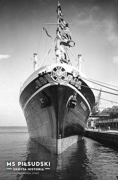 Gdynia 1935 r, fot. Merchant Marine, Homeland, Transportation, Ocean, Cruise Ships, Deco, Historia, Merchant Navy, Deko