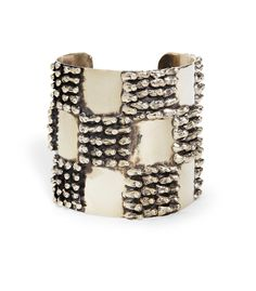 Anndra Neen Checkered Seaweed Cuff- Available this Fall at Ette