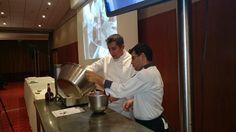 Chef Pâtissier Laurent Moreno, avec l'aide précieuse de Konstantinos Koutsopoulos. Με την πολύτιμη βοήθεια τιυ Κώστα Κουτσόπουλου. Athens Airport, Glaze, Dessert, Pastry Chef, Enamel, Deserts, Postres, Display Window, Desserts