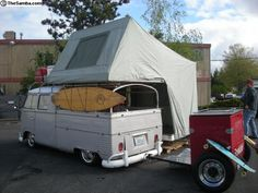 1962 DoubleCab with Fold Out Camper!