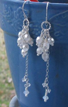 Pearl & Crystal Drops...