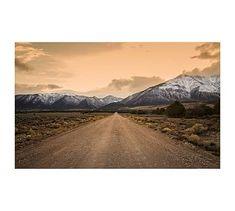 Mountain Road Framed Print by Jennifer Meyers #potterybarn