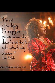 lisa nichols on stage - - Yahoo Image Search Results Positive Quotes, Motivational Quotes, Inspirational Quotes, Motivational Speakers, Lisa Nichols, Think And Grow Rich, Creative Visualization, Self Motivation, Powerful Quotes