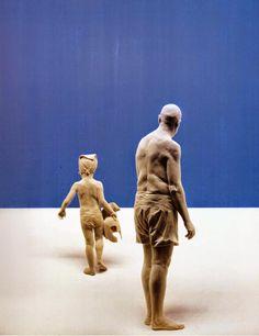 Esculturas hiper-realistas em madeira - PeterDemetz 3 j