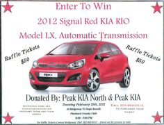 Anyone want to buy a raffle ticket? $50 for a new car or a great cause :)