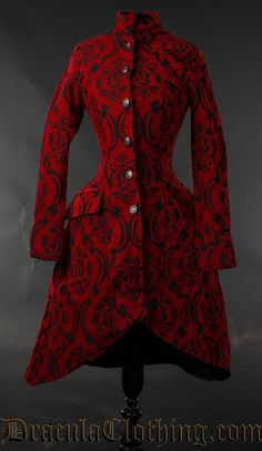 Crimson Autumn Coat