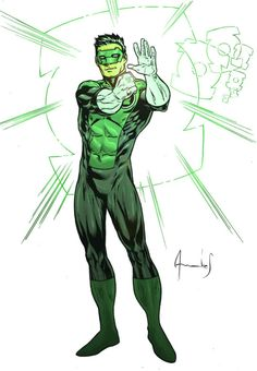 Kyle Rayner by Andres Ponce