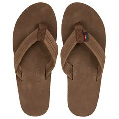 d8a62aaa8c2 Rainbow Sandals Single Layer Mens Sandals