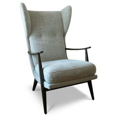 """Carter Chair by Thrive Furniture. Looks like a little like an MCM """"Chairy,"""" but I like it."""