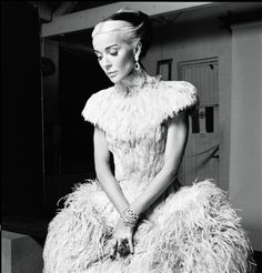 Daphne Guiness in Alexander McQueen - Photographed by Derek Blasberg Harper's Bazaar March 2011, via Flickr.