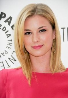 Cute Center Parted Medium Length Hairstyle for 2014