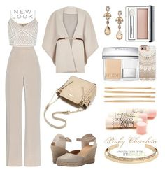 """""""Untitled #1045"""" by pinky-chocolatte ❤ liked on Polyvore featuring River Island, MaxMara, New Look, Cordani, Oscar de la Renta, Clinique, Christian Dior, Casetify, Cara and Alexis Bittar"""