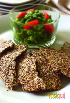 Raw Food Recipes, Keto Recipes, Healthy Recipes, Dried Fruit, Sin Gluten, Easy Peasy, Crackers, Almond, Clean Eating