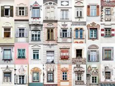 André Vicente Gonçalves Documents Hundreds of Doors and Windows Around the World,Windows of The Alps. Image © Andre Vicente Goncalves