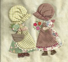 Sunbonnet Sue Quilt In the Hoop Quilt Block Patterns, Applique Patterns, Applique Quilts, Applique Designs, Patchwork Quilting, Quilt Blocks, Sunbonnet Sue, Quilting Projects, Quilting Designs