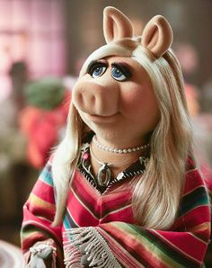 An elegant poncho, moi, and a brand new episode of #TheMuppets are upon vous! Tune in tonight at 8:30/7:30c on ABC! Miss Piggy, February 2016