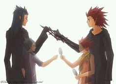 Axel and Saix/Lea and Isa   Kingdom hearts