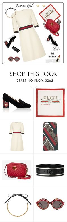 """""""Fall Dresses♥♥♥"""" by marthalux ❤ liked on Polyvore featuring Prada, Gucci, fallstyle, falltrend and falldress"""