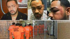 Stanley Roy informa: Pandillero dominicano golpea oficial de correccion...