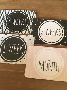 Printable Baby Milestone Cards (Monthly & Introduction Card) This is an INSTANT DOWNLOAD PDF FILE of illustrated baby milestone card signs.