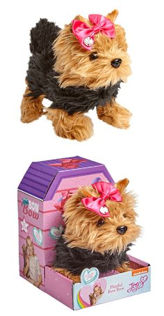 Your little ones can now have their very own Bow-Bow dog from JoJo Siwa in time for Christmas! Little Girl Toys, Toys For Girls, Kids Toys, Little Girls, Pet Toys, Jojo Siwa Bows, Jojo Bows, Jojo Siwa Birthday, 9th Birthday