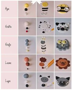 Animals fondant tutorial #cake #fondant