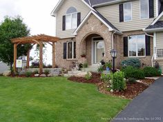 Front Entry Garden Room ~ Completed New Landscape | Flickr   Photo Sharing!