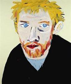 Winner of the Archibald Prize for Portraiture Adam Cullen Portrait of David Wenham acrylic on canvas, private collection. Art Gallery, Australian Artists, Face Art, Identity Art, Portraiture, Archibald, Australian Art, Art, Portrait Painting
