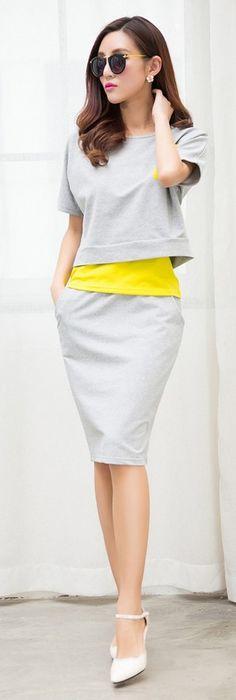 Sets fashion dress shirts tank top skirt £11.94