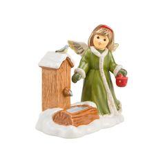 Goebel Weihnachtsengelmarkt Plätschernde Waldquelle h: 11 cm