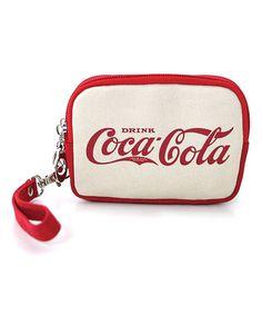 Another great find on #zulily! Cola Cola Pre-1910 Canvas Wristlet #zulilyfinds
