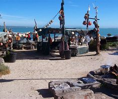 Die Strandloper Restaurant, Langebaan, South Africa