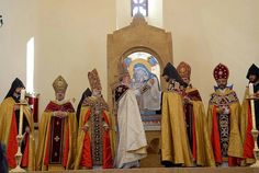 St.Hovhannes Church  First Divine Liturgy at church   Berd city,Armenia