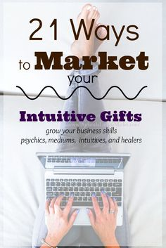 Grow your intuitive business in just 3 weeks - learn how with a new eCourse >>