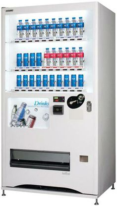 Can & Pet Beverage Vending Machine (RCP-5024) - South Korea Beverage Vending machine, ROVEN Centrifugal Pump, Vending Machine, South Korea, Beverage, Canning, Drink, Drinks, Liquor, Drinking