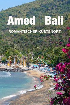 Das kleine Paradies Amed befindet sich auf Bali in Indonesien. Der Küstenort ist traumhaft schön und die imposanten Berge befinden sich auch in unmittelbarer Nähe. In diesem Beitrag findet ihr viel Inspiration und Fernweh.