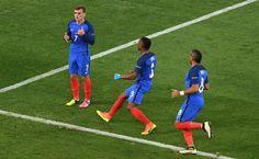 Griezmann más que brillar deslumbra y así Francia es finalista