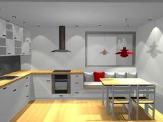 sittebenk på kjøkkenet – Google Søk Conference Room, Table, Furniture, Home Decor, Decoration Home, Room Decor, Meeting Rooms, Tables, Home Furnishings