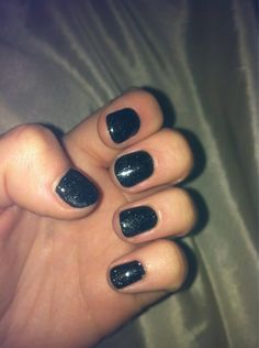Jessica GELeration in Black Ice. Jessica Geleration, Gel Polish, Things To Think About, Ice, Nails, Beauty, Black, Finger Nails, Ongles