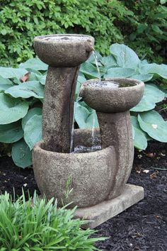 One Piece Graceful Dish Fountain | Massarelli's
