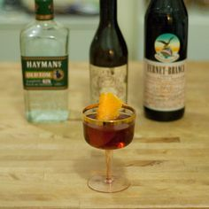 Hanky-Panky-2 - fernet and old tom gin