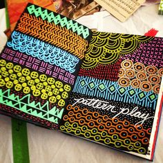Some very clever journal pages -Sandra Kaye: Peek into