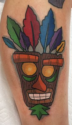 My latest tattoo just in time for Crash to make his comeback. Ooga-booga!
