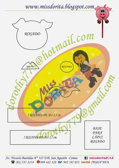 Miss Dorita: Molde del video del Lapiz del Chanchito