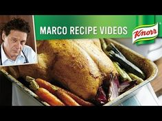 Roast Chicken with Thyme, Lemon and Gravy Recipe | Marco Pierre White ...