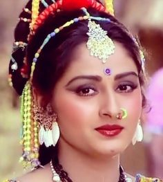 Jaya Prada Bollywood Heroine, Indian Bollywood Actress, Bollywood Girls, Beautiful Bollywood Actress, Most Beautiful Indian Actress, 80s Actresses, Indian Actresses, Reena Roy, Nose Ring Designs