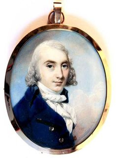 OnlineGalleries.com - A fine portrait miniature of John Wigston (1763-1810)