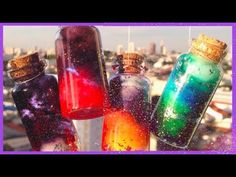 True Blue Me & You: DIYs for Creatives • DIY 6 Nebula Galaxy Bottle and Jewelry Tutorials....