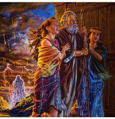 Génesis 19:24-26 Entonces Jehová hizo llover sobre Sodoma y sobre Gomorra azufre…